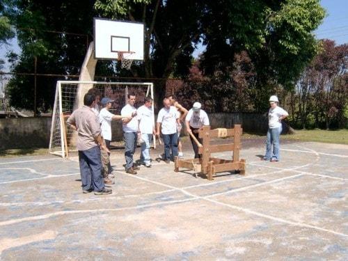Diversos programas de treinamentos vivenciais