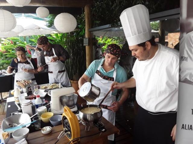 Jantar Compartilhado e Dinâmica Gastronômica
