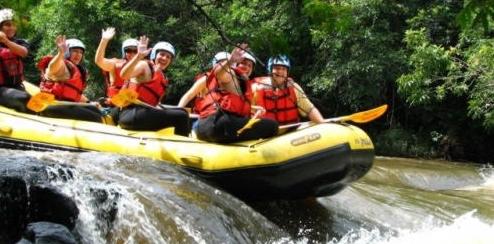 Razão e Emoção do Rafting Empresarial